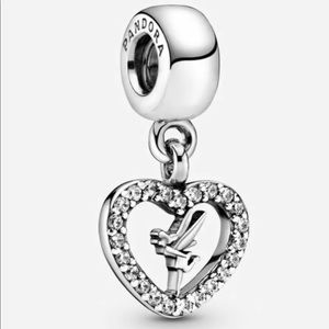 Authentic Pandora Love Tinkerbell Charm